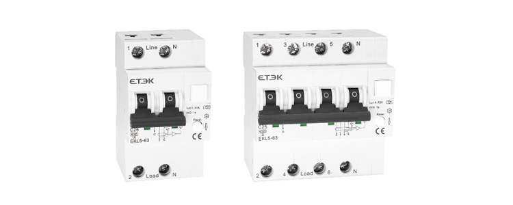Isolation Switch EKD1 125 Supplier EKL5-63 6KA RCBO