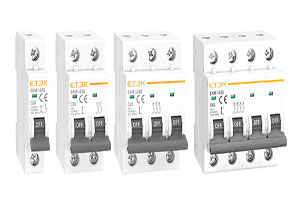 What's the difference between 1P, 2P, 3P and 4P circuit breakers? How to choose?